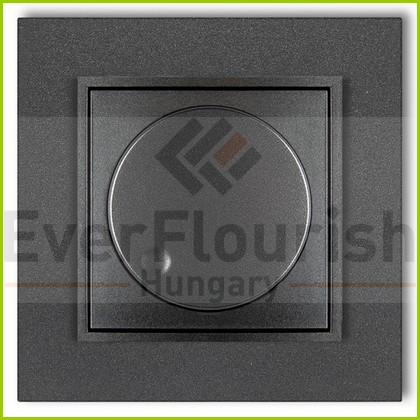 MINI fényerőszabályzó kerettel metál grafit 4120H