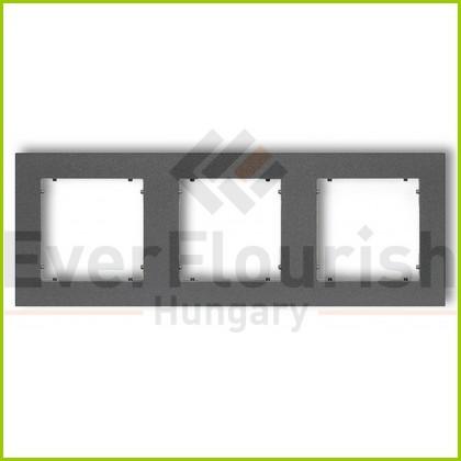 MINI hármas keret metál grafit 4126H