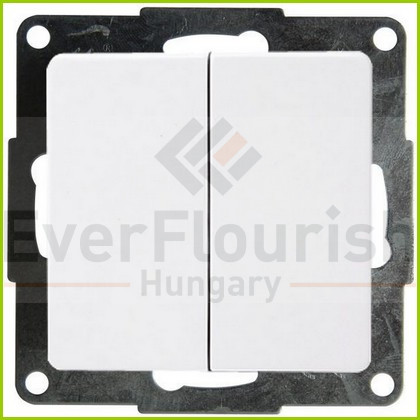 """BUSINESS LINE """"FM"""" serial switch, flush-mount, white, IP20 4331H"""