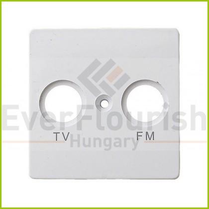 BUSINESS LINE S antenna (TV-FM) fedlap, fehér 4337H
