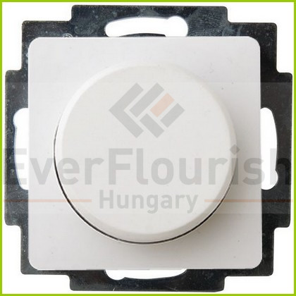 """BUSINESS LINE """"FM"""" dimmer 300W for electronic transformers, flush-mount, white, IP20 4342H"""