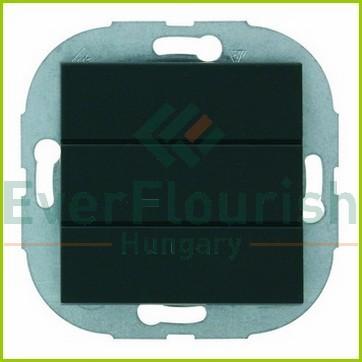 ArchiTaste push button, black 44204