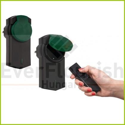 Távirányítós készlet, 1 távirányító + 2 dugalj, 2x2300W, kültéri 4517H