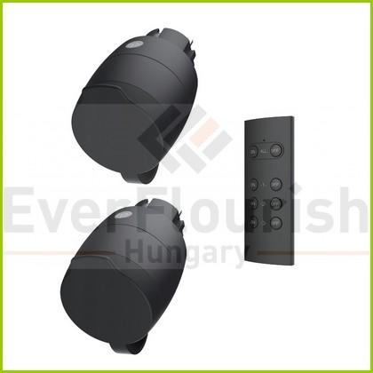 Távirányítós készlet mini 1 távirányító + 2dugalj 30m 2x3680W IP44 4521H