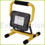 "LED floodlight ""Ispot"" 30W w. stand, 1.5m vezetékkel 47005"