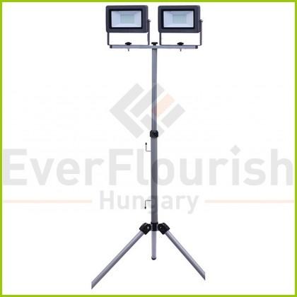 "LED floodlight ""Flare"" 2x50W tripod IP65 47011"