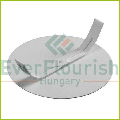 Doboztető rögzítő karommal, fehér, d:89.5mm 5211H