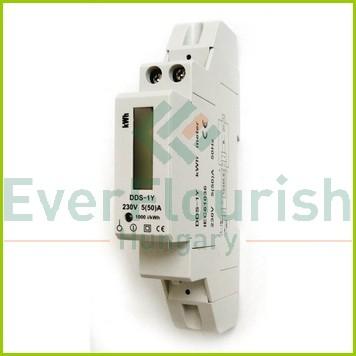 1 pólusú digitális almérő DIN sínre 5256H