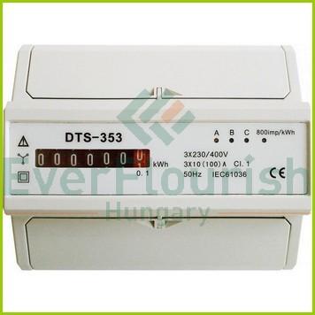 3 pólusú elektromechanikus almérő DIN sínre 3, szürke 5261H