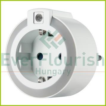 Irányfény LED, alkonykapcsolóval és dugaszolóaljzattal 6007H