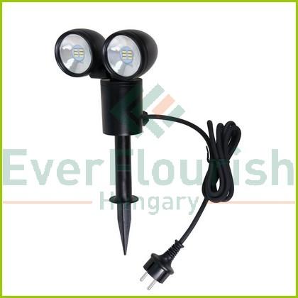 Kültéri leszúrható LED Spot 2 fejes 6W-os  6010H