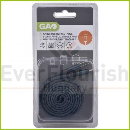 USB kábel A-C 1 méter 6088H