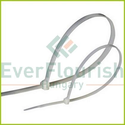 Kábelkötegelő, 120x2.5mm, fehér, 100db 6537H