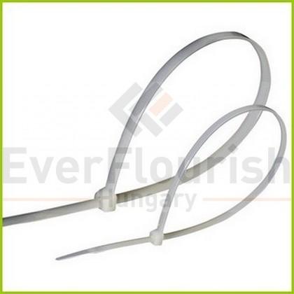 Kábelkötegelő, 380x4.7mm, fehér, 100db 6541H