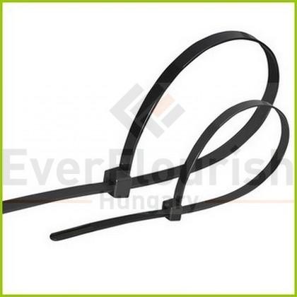Kábelkötegelő, 150x3.5mm, fekete, 100db 6544H