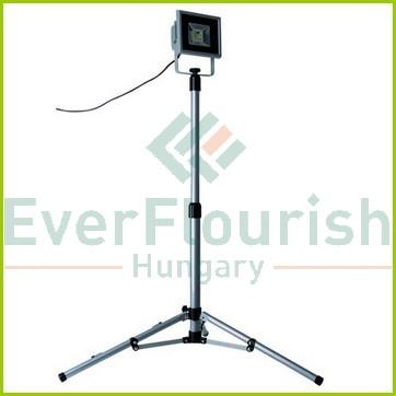 LED  fényvető állványos, 20W, 2m, ezüst, 68616