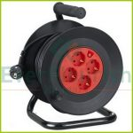 Cable reel, plastic 25m, 4way 3x1.0 6900H