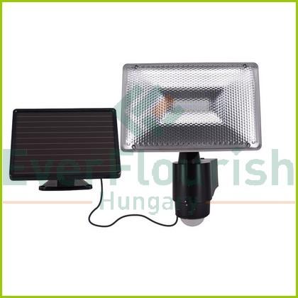 Szolár paneles LED lámpa 6W mozgásérzékelővel 6913H