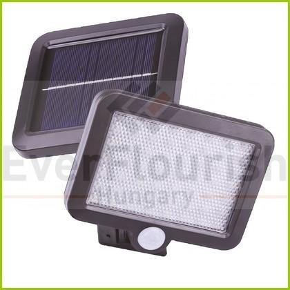Napelemes LED lámpa mozgásérzékelővel 3W 6924H