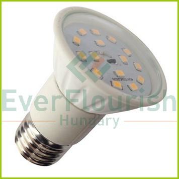 LED fényforrás, E27, 5.0W, JDR, 6966H
