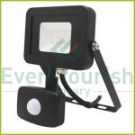 """LED floodlight """"Ispot"""" 10W 900lm, 4000K, with motion detector IP65 6987H"""