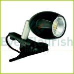 ARA beépített LED-es csíptetős spot 1,5W fekete  7009H