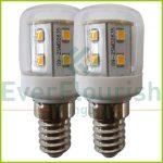 """LED fényforrás, E14, 2.6W, klasszikus """"parfüm"""" izzó,   2db/bliszter 7011H"""