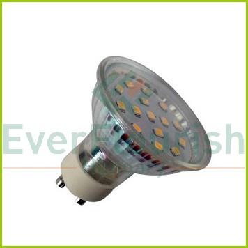 LED fényforrás, GU10J, 3.0W 7072H