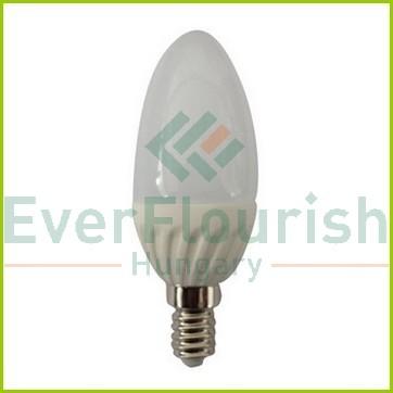 LED fényforrás, E14, gyertya, C37, 7.0W 7073H