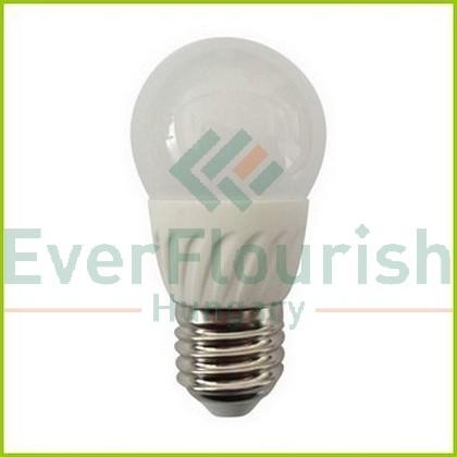 LED lightsource G45 E27 230V 7W 3000K 550lm 7077H