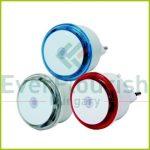 Irányfény LED, alkonykapcsolóval 0.8W , 3db, színes 7312H