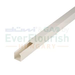 Kábelcsatorna, 15 x 15 mm, 2m, fehér 79730