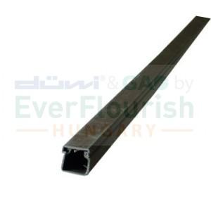 Kábelcsatorna, 15 x 15 mm, 2m, barna 79735