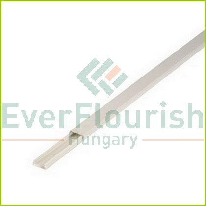 Plastic cable duct, 15x15mm, 2m, white 79740
