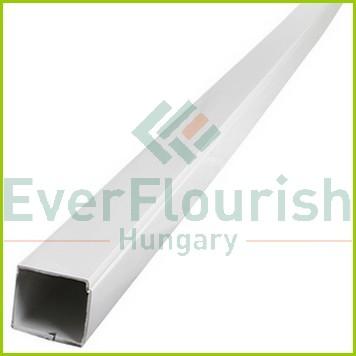 Kábelcsatorna, 30 x 30 mm, 2m, fehér 79750