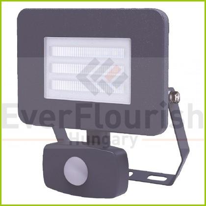 LED fényvető 20W 1500lm IP65 mozgásérzékelővel antracit 7989H