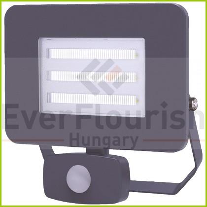 LED fényvető 30W 2250lm IP65 mozgásérzékelővel antracit 7990H