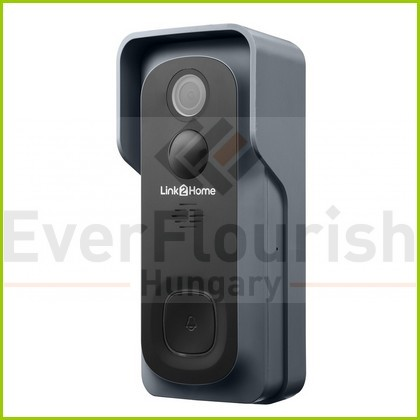 L2H Pro Kamerás ajtócsengő elemes 8000H