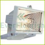 Halogén fényvető, max. 120W R7s, fehér, IP44 8110H