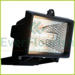 Halogen floodlight, 120W, IP44, white 8111H