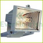 Halogén fényvető, max. 400W R7s, fehér, IP44 8113H