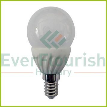LED fényforrás, E14, gömb, P45, 5.0W 8167H