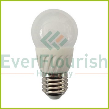 LED fényforrás, E27, gömb, G45, 5.0W 8168H