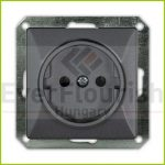 """OPAL single socket 2p+z """"schuko"""" without frame, graphite 8713H"""