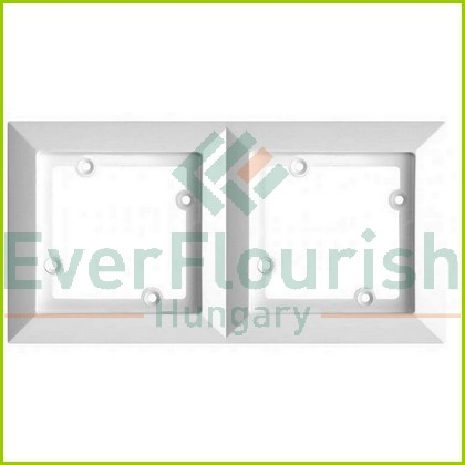 OPAL 2-fold cover frame white 8730H