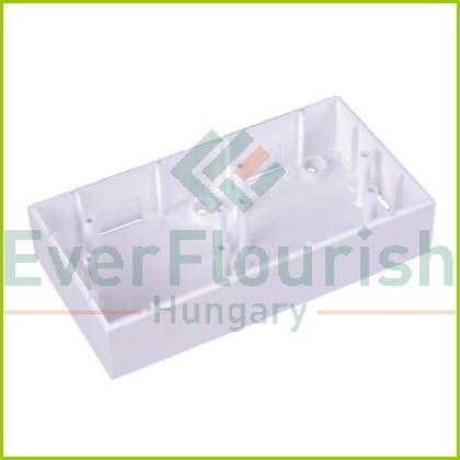 Surface mounted single mounting box white 8735H