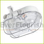 LED hajólámpa ovális, fém védőráccsal 5W 911170