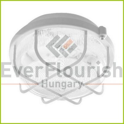 LED hajólámpa kerek, műanyag védőráccsal 5W 948015
